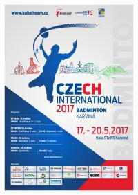 Czech international badminton Karviná 2017